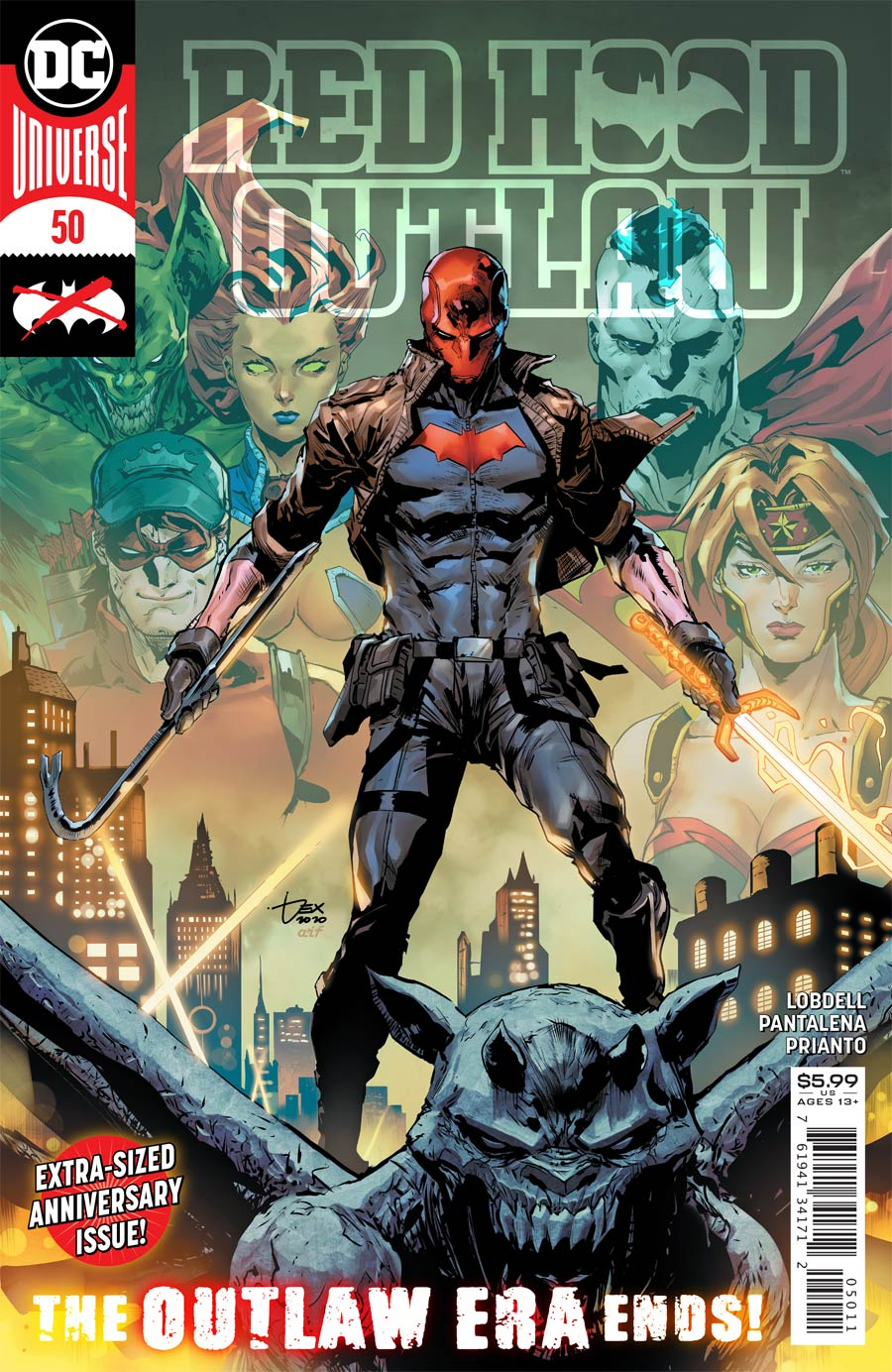Red Hood Outlaw #50 Cover A Regular Dexter Soy Cover