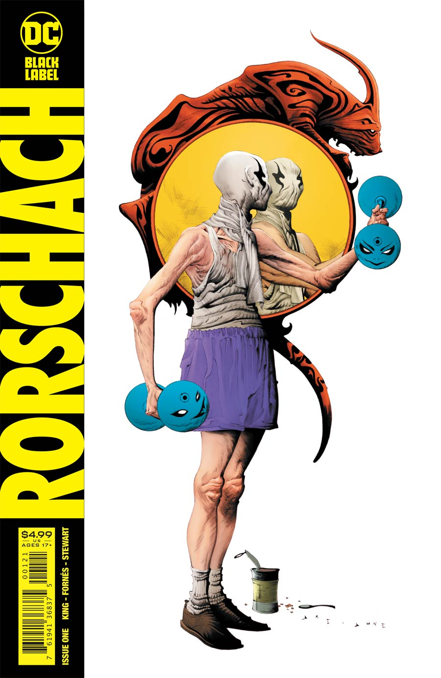 Rorschach #1 Cover B Variant Jae Lee Cover