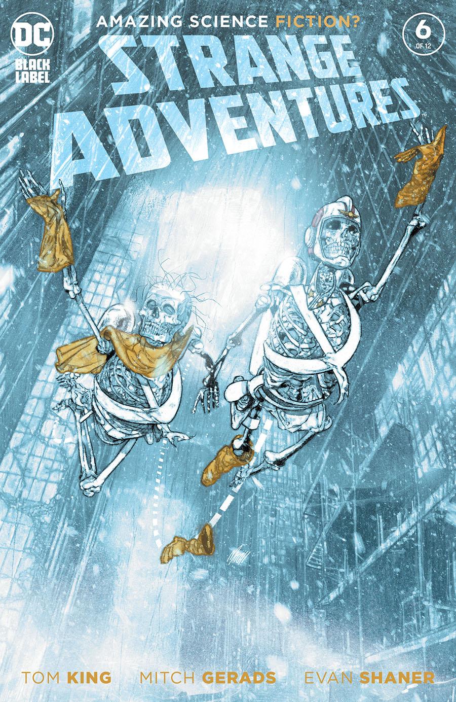 Strange Adventures Vol 4 #6 Cover A Regular Mitch Gerads Cover
