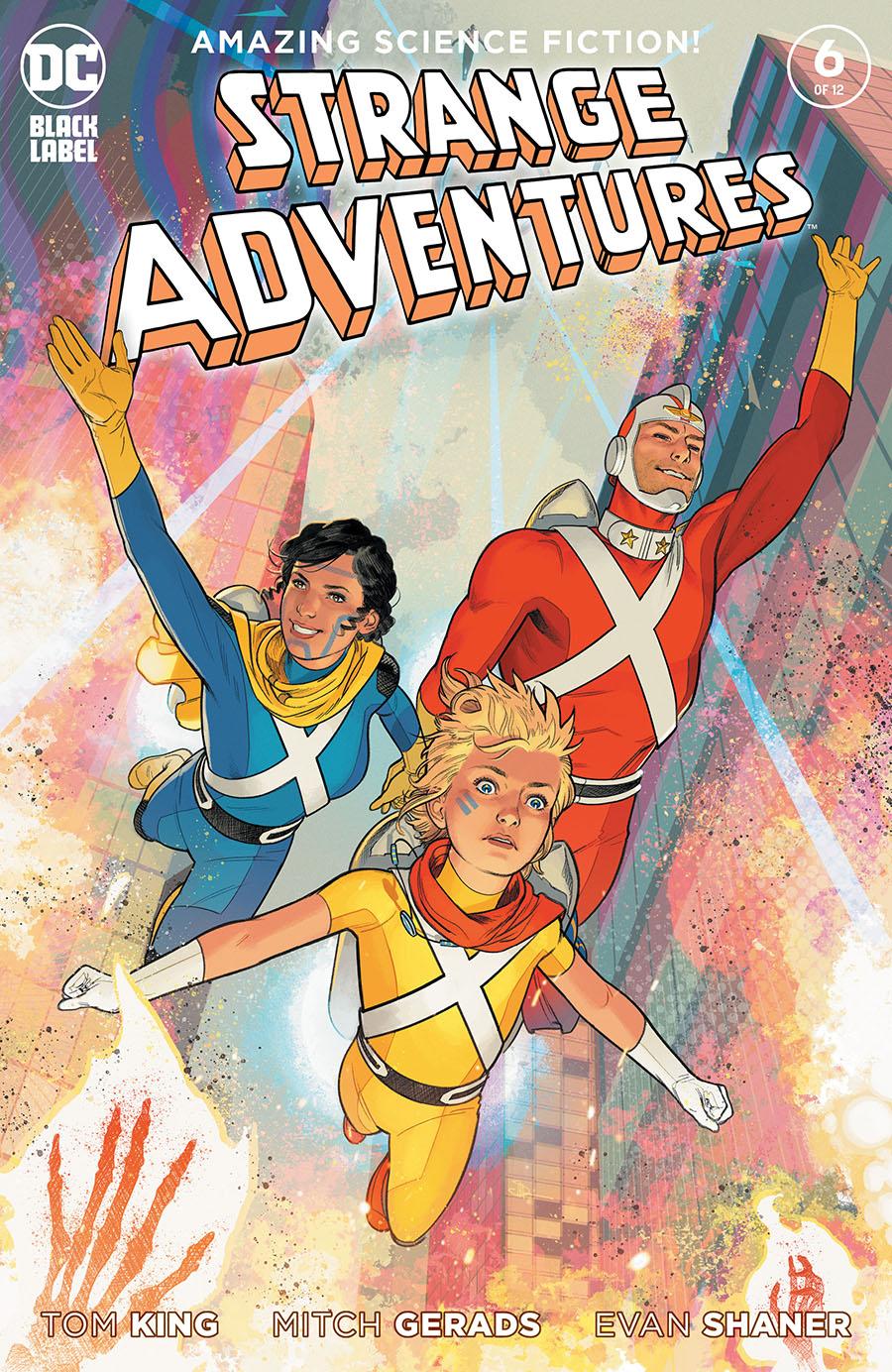 Strange Adventures Vol 4 #6 Cover B Variant Evan Doc Shaner Cover