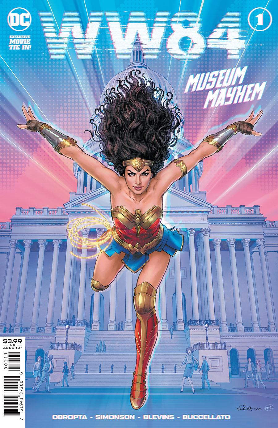 Wonder Woman 1984 One Shot Cover A Regular Nicola Scott Cover
