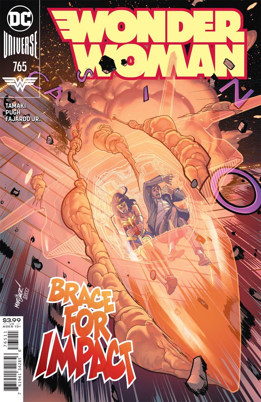 Wonder Woman Vol 5 #765 Cover A Regular David Marquez Cover
