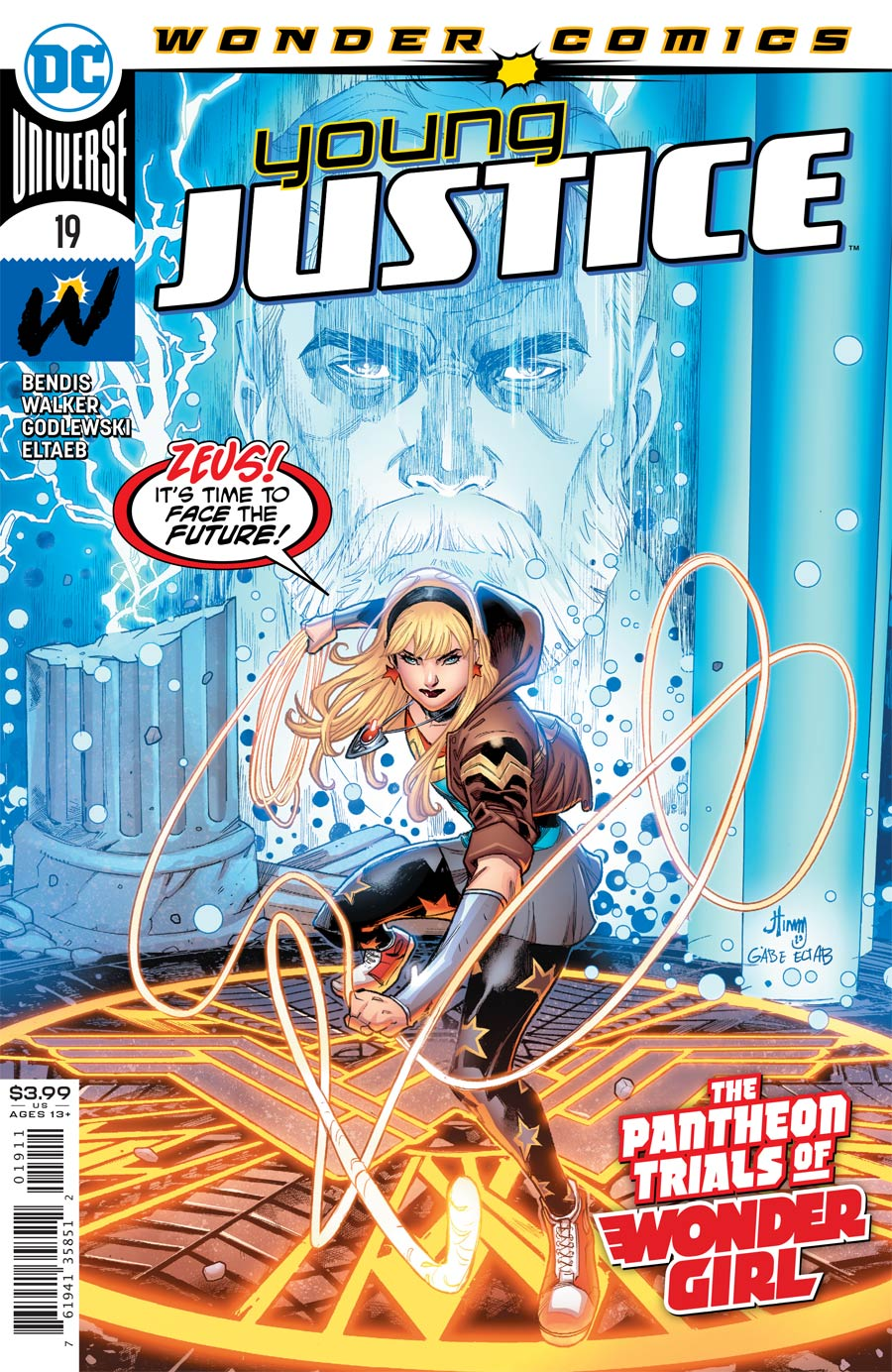 Young Justice Vol 3 #19 Cover A Regular John Timms Cover