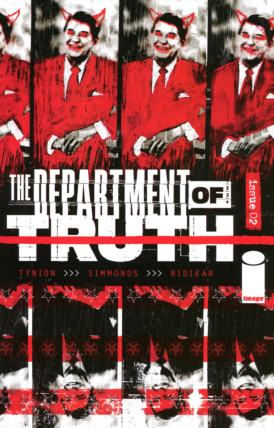Department Of Truth #2 Cover A 1st Ptg Regular Martin Simmonds Cover