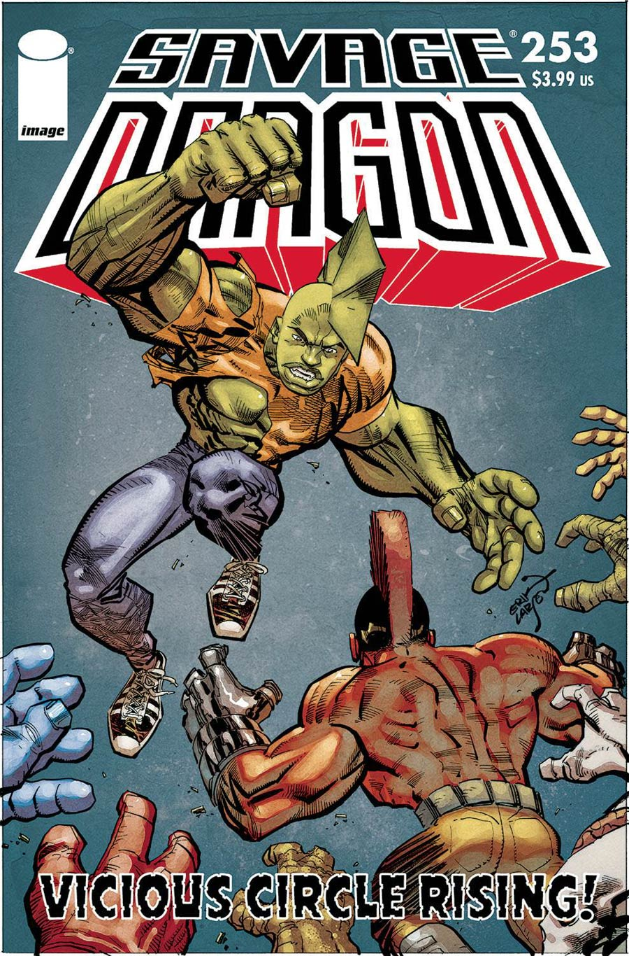 Savage Dragon Vol 2 #253 Cover A Regular Erik Larsen Cover
