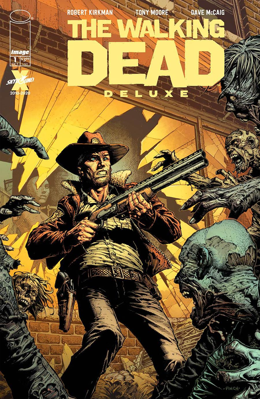Walking Dead Deluxe #1 Cover A Regular David Finch & Dave McCaig Cover