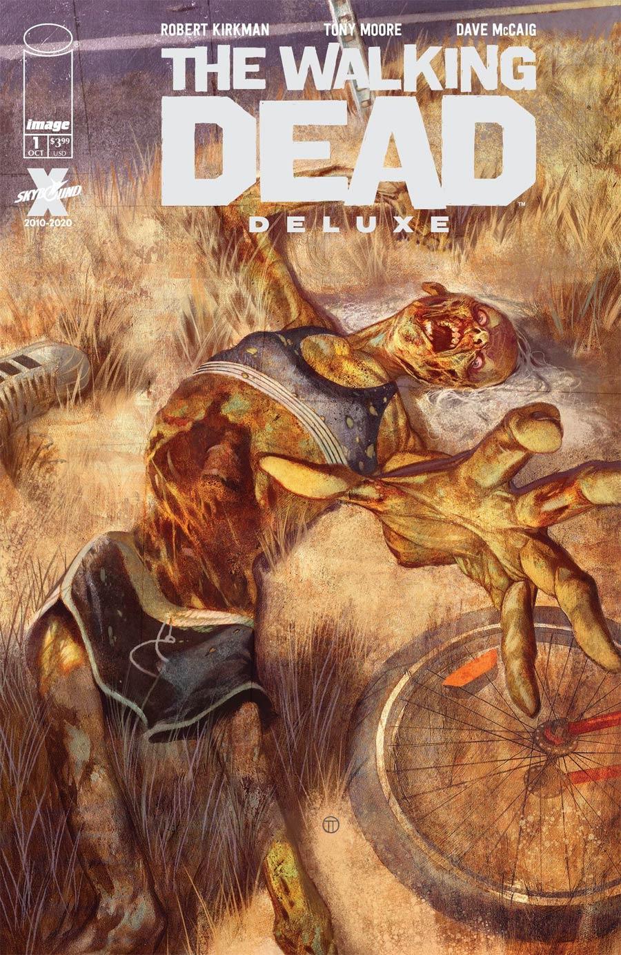 Walking Dead Deluxe #1 Cover D Variant Julian Totino Tedesco Cover