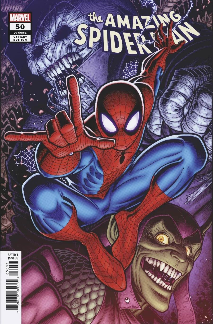 Amazing Spider-Man Vol 5 #50 Cover D Variant Arthur Adams Cover