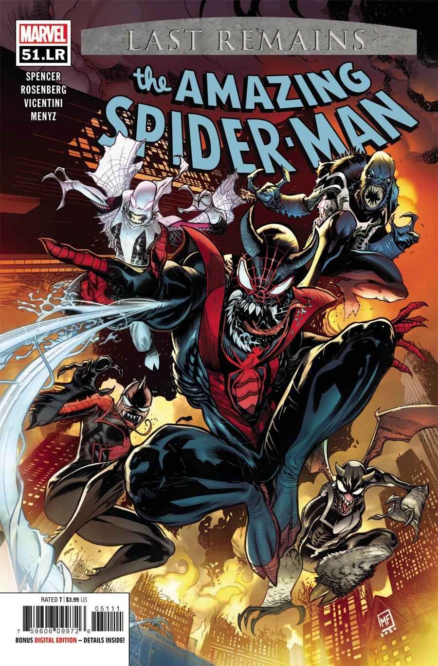 Amazing Spider-Man Vol 5 #51 LR Cover A Regular Marcelo Ferreira Cvoer