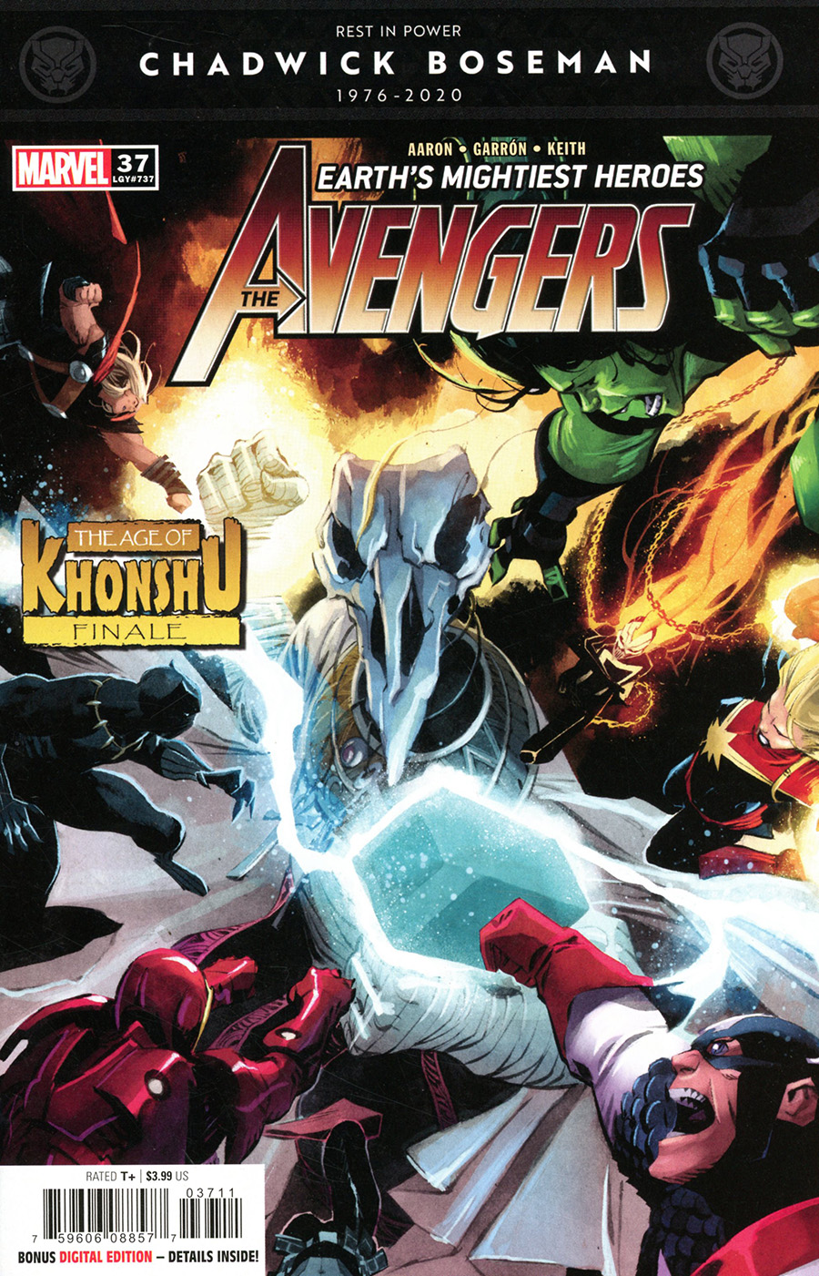 Avengers Vol 7 #37 Cover A Regular Matteo Scalera Cover