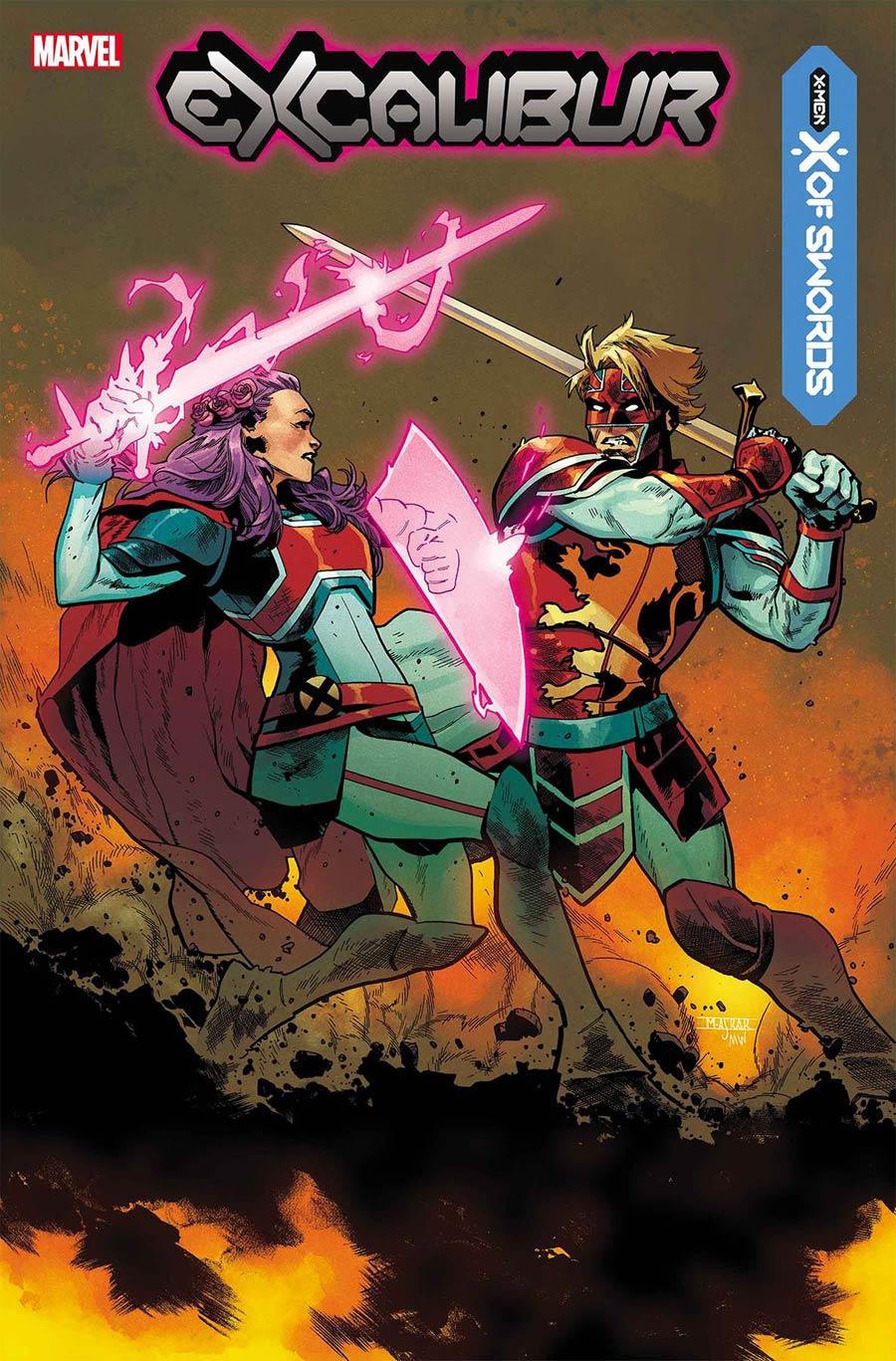 Excalibur Vol 4 #13 Cover A 1st Ptg Regular Mahmud Asrar Cover (X Of Swords Part 9)