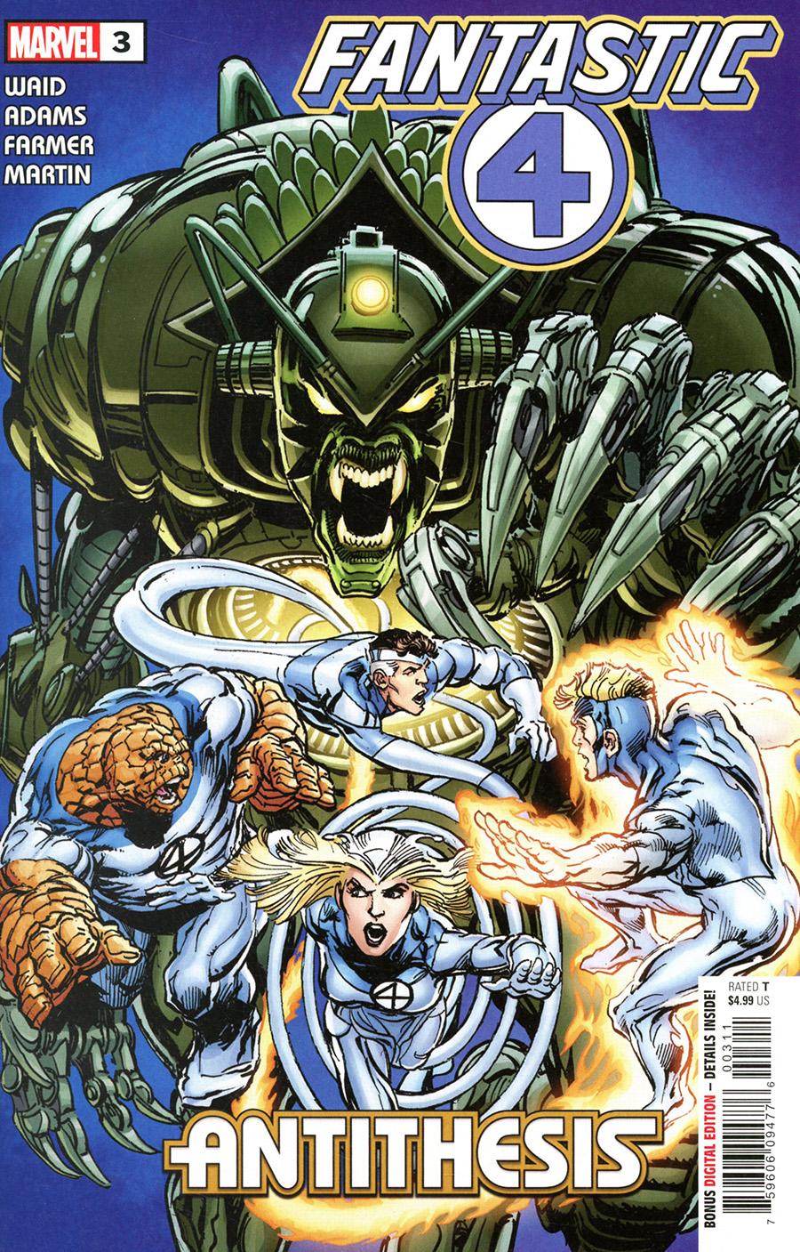 Fantastic Four Antithesis #3 Cover A Regular Neal Adams Cover