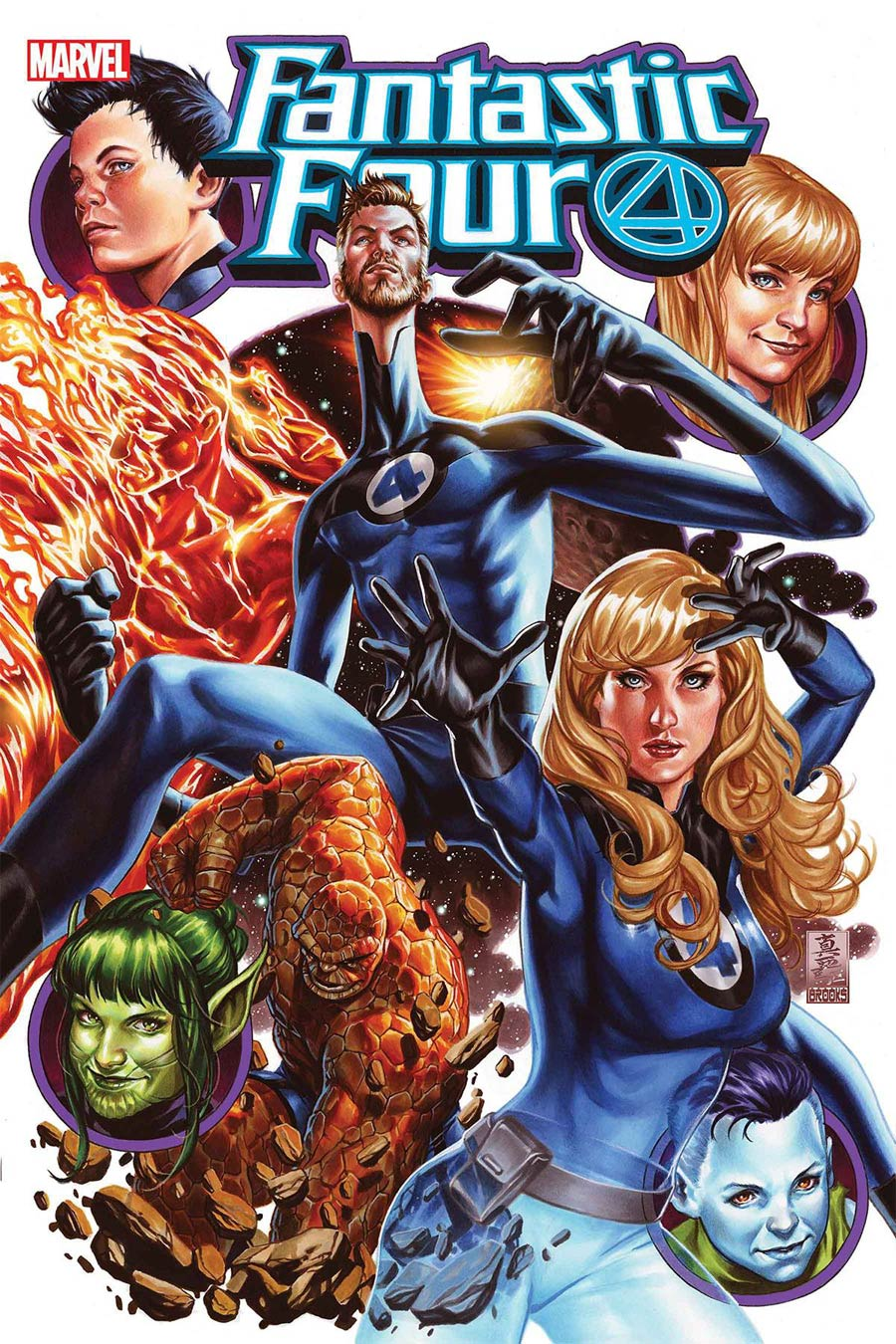 Fantastic Four Vol 6 #25 Cover A Regular Mark Brooks Cover
