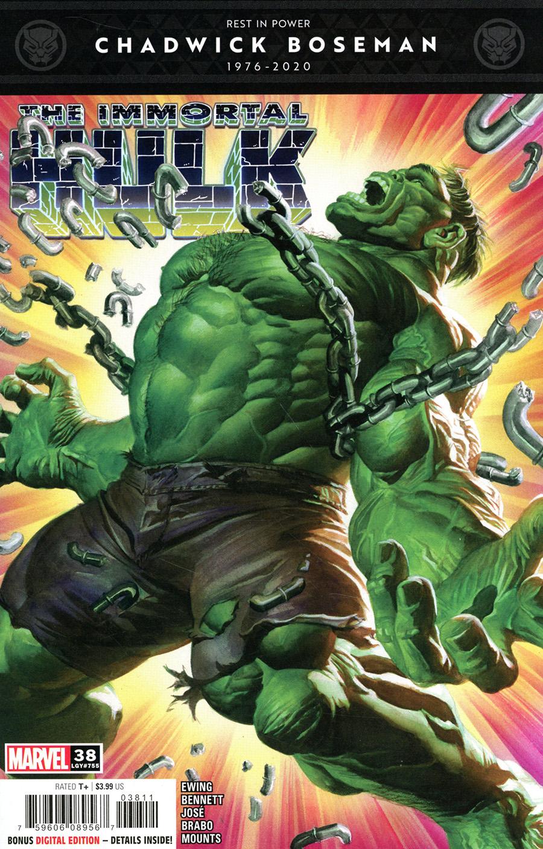 Immortal Hulk #38 Cover A Regular Alex Ross Cover