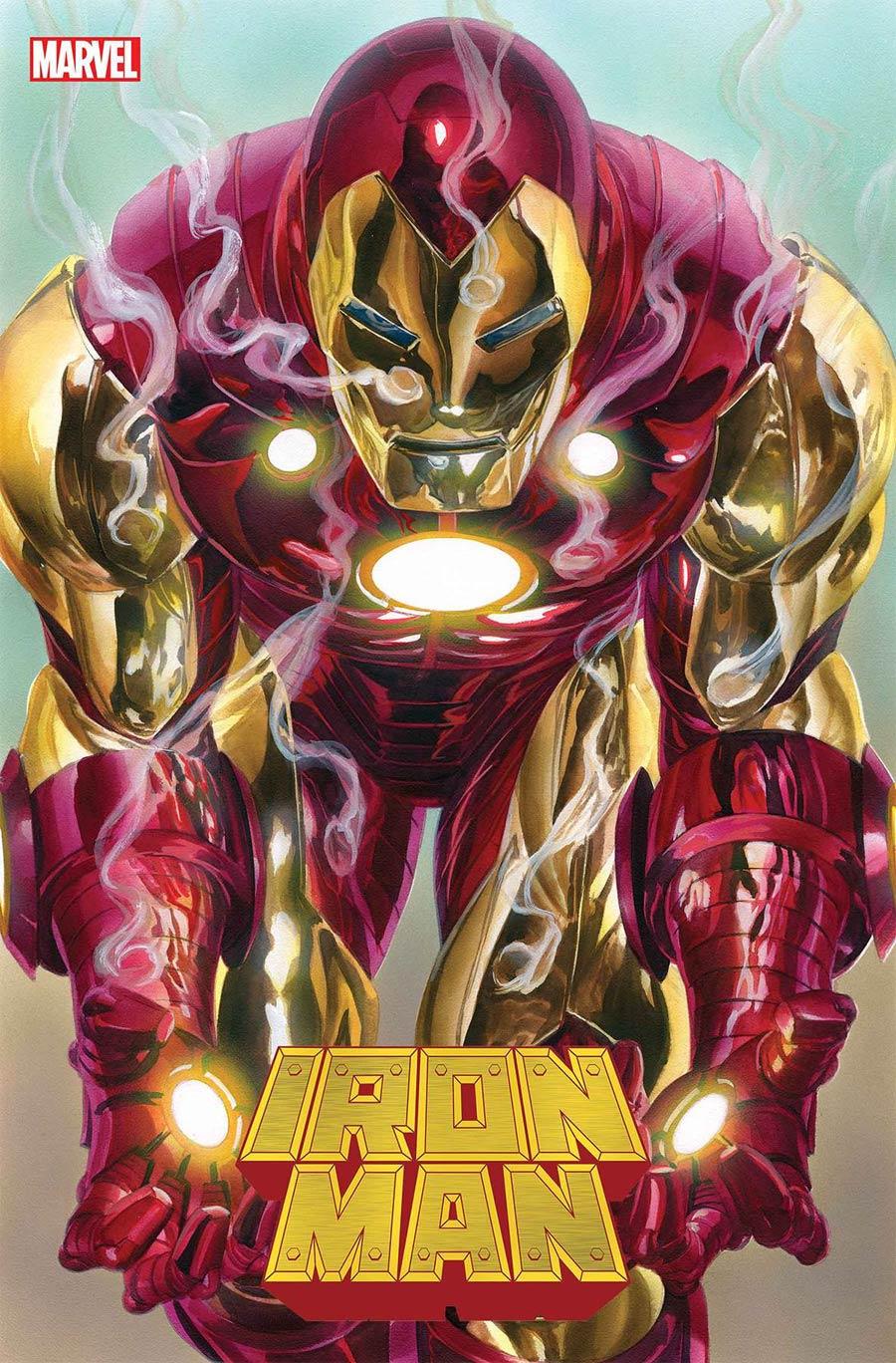 Iron Man Vol 6 #2 Cover A Regular Alex Ross Cover