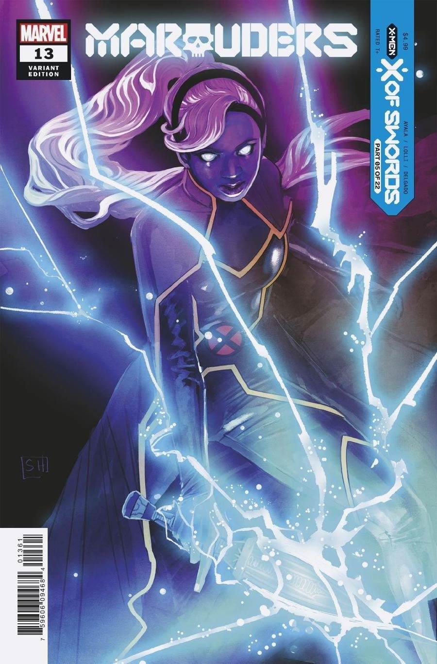 Marauders #13 Cover D Variant Stephanie Hans Cover (X Of Swords Part 5)