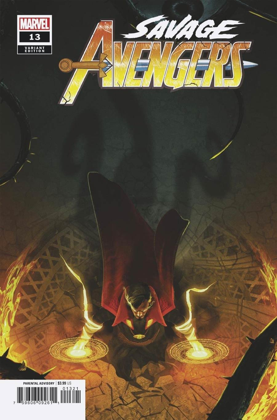 Savage Avengers #13 Cover B Variant Boss Logic Cover