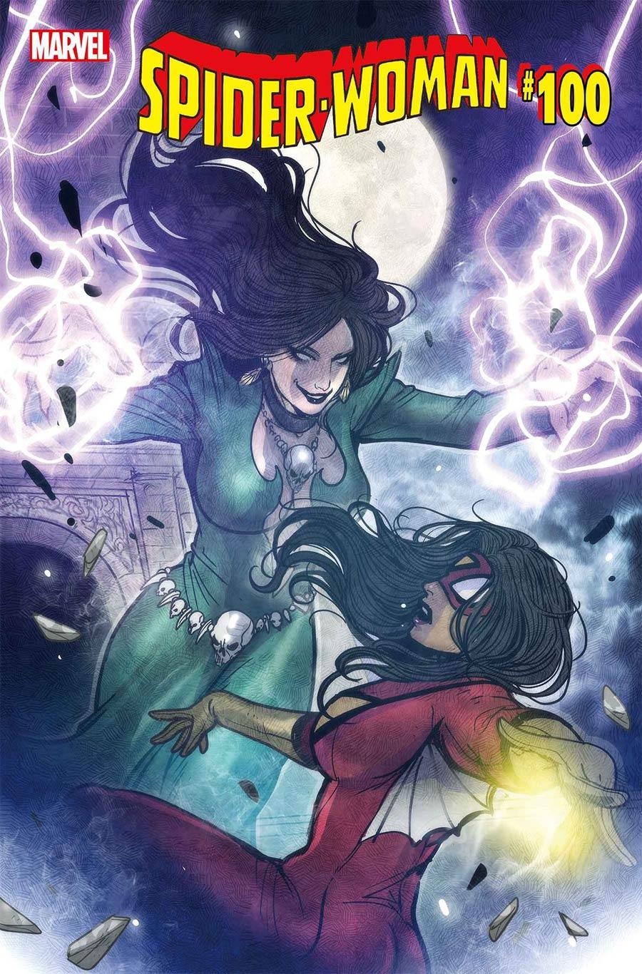 Spider-Woman Vol 7 #5 Cover E Variant Sana Takeda Villain Cover (#100)