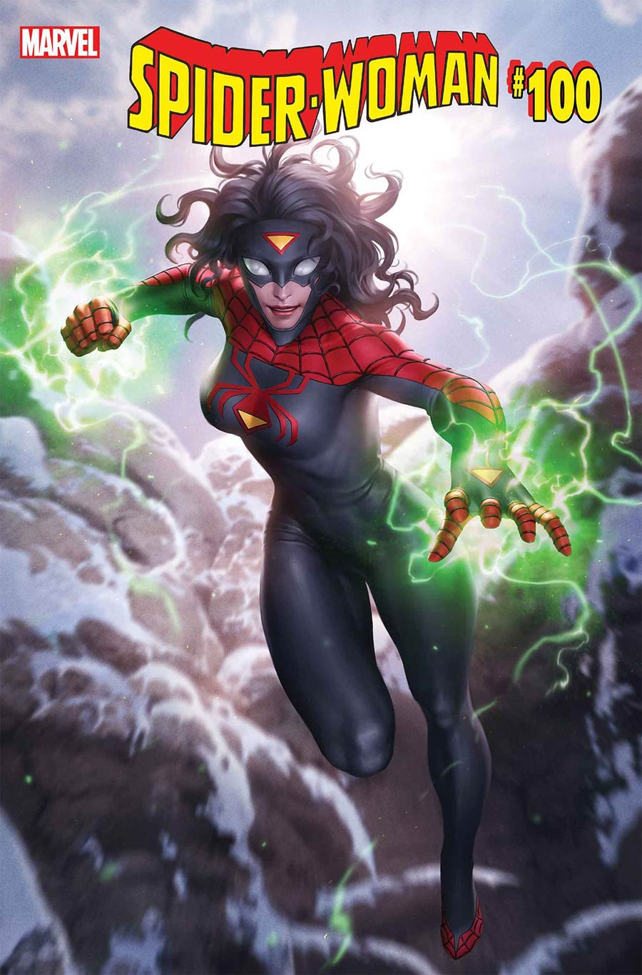 Spider-Woman Vol 7 #5 Cover F Variant Junggeun Yoon Cover (#100)