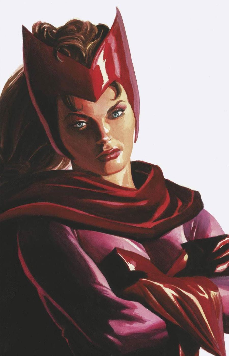 Strange Academy #4 Cover B Variant Alex Ross Timeless Scarlet Witch Cover