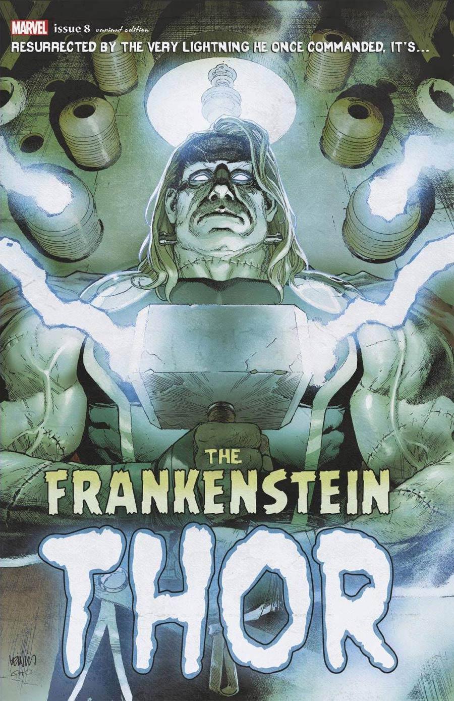 Thor Vol 6 #8 Cover C Variant Leinil Francis Yu Frankensteins Thor Horror Cover