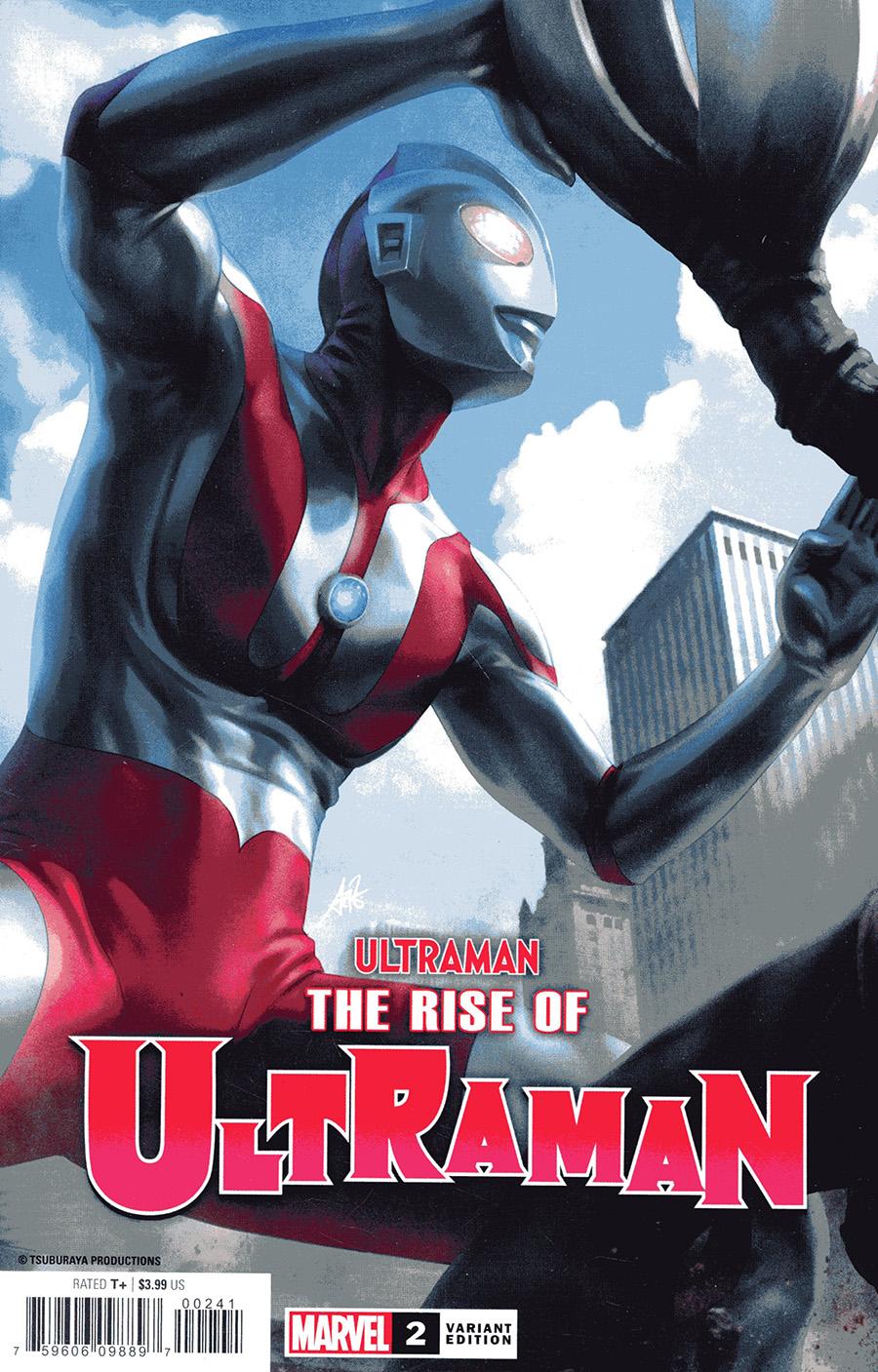 Ultraman Rise Of Ultraman #2 Cover C Variant Stanley Artgerm Lau Cover