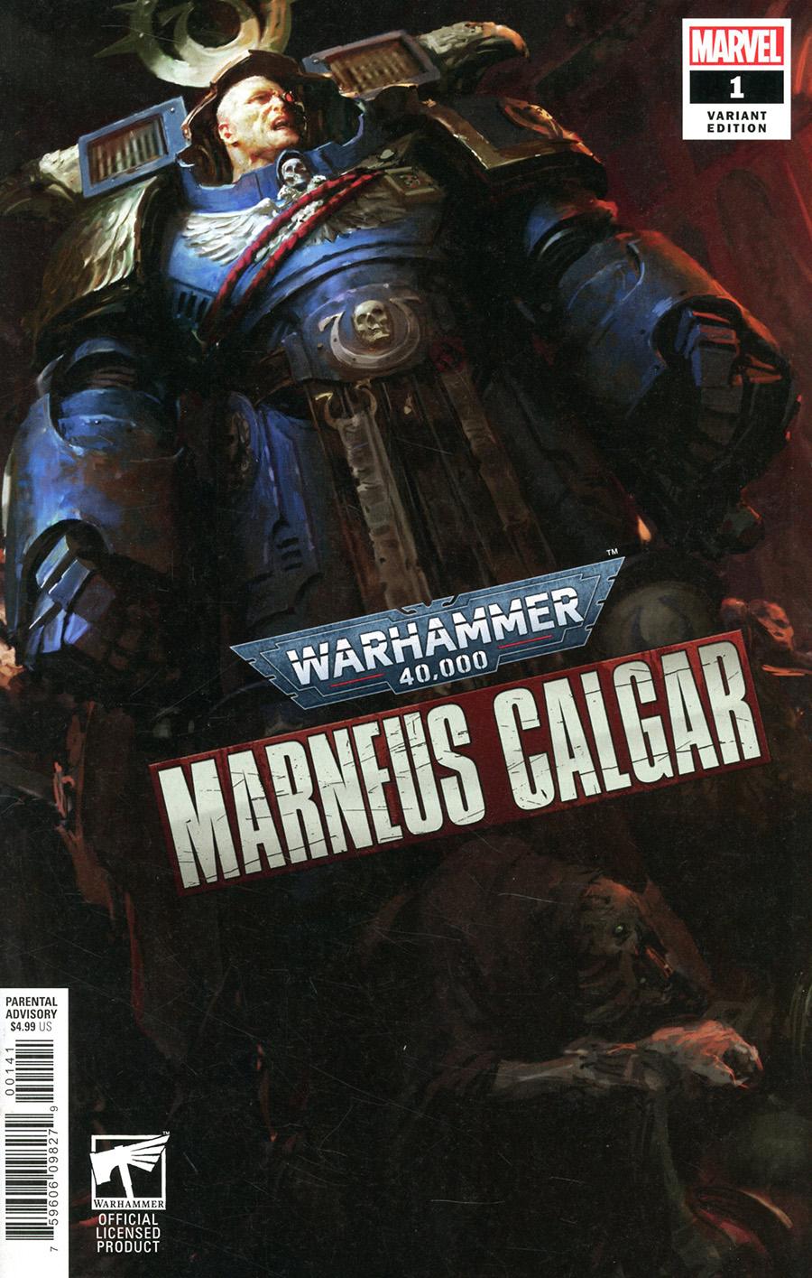 Warhammer 40000 Marneus Calgar #1 Cover B Variant Games Workshop Cover