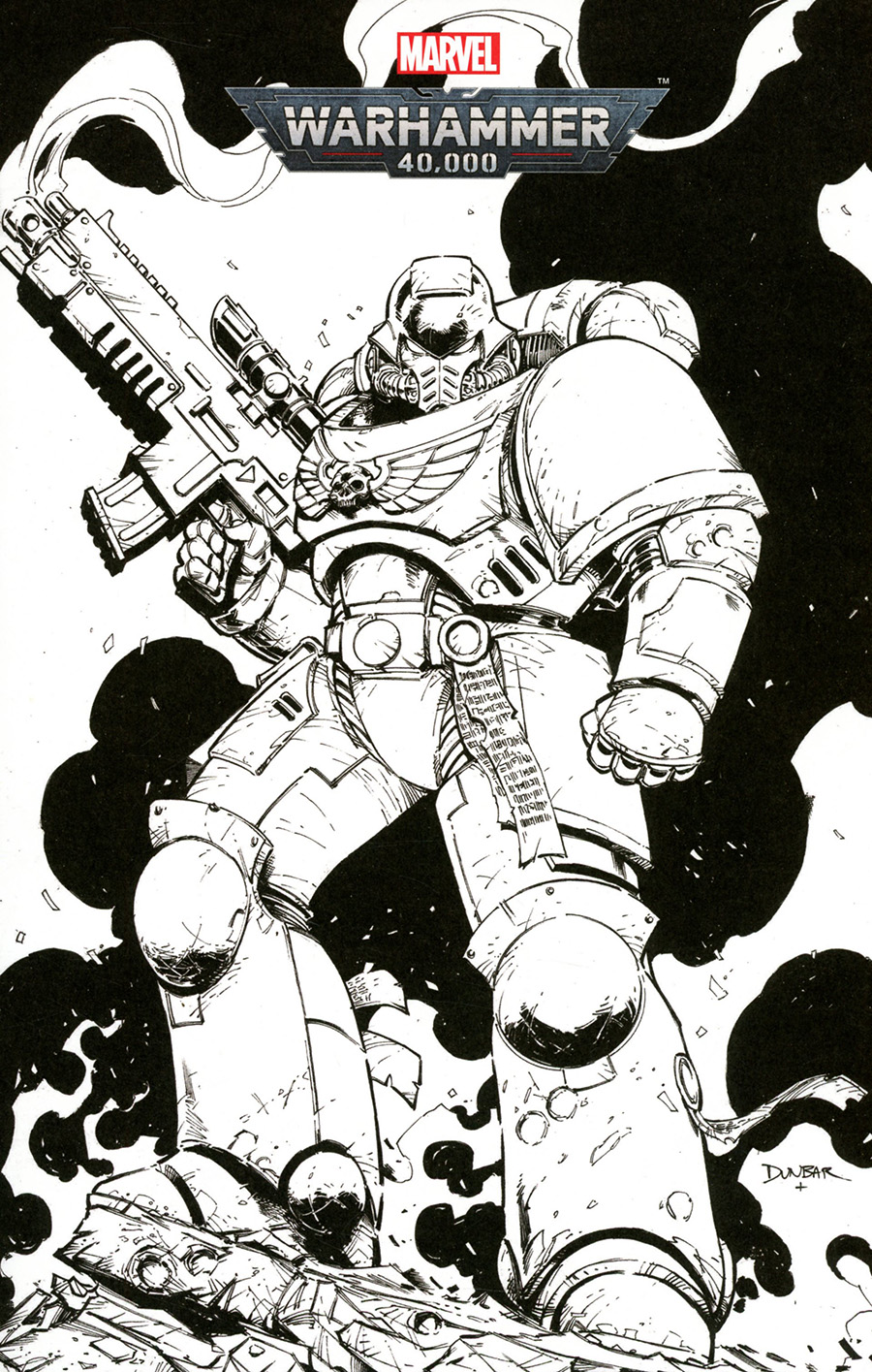 Warhammer 40000 Marneus Calgar #1 Cover C Variant Color Your Own Cover