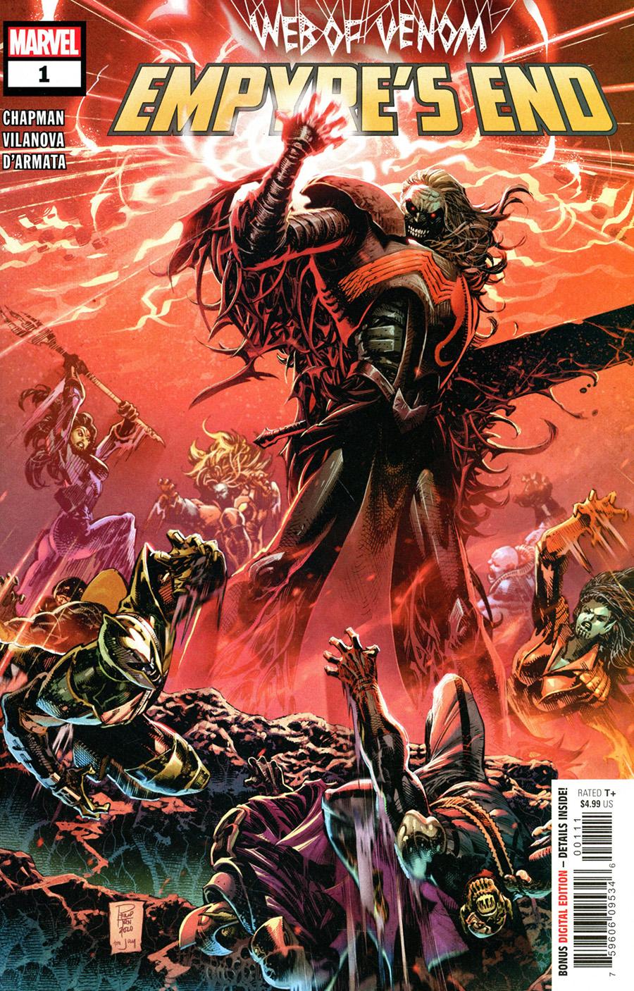 Web Of Venom Empyres End #1 Cover A Regular Philip Tan Cover