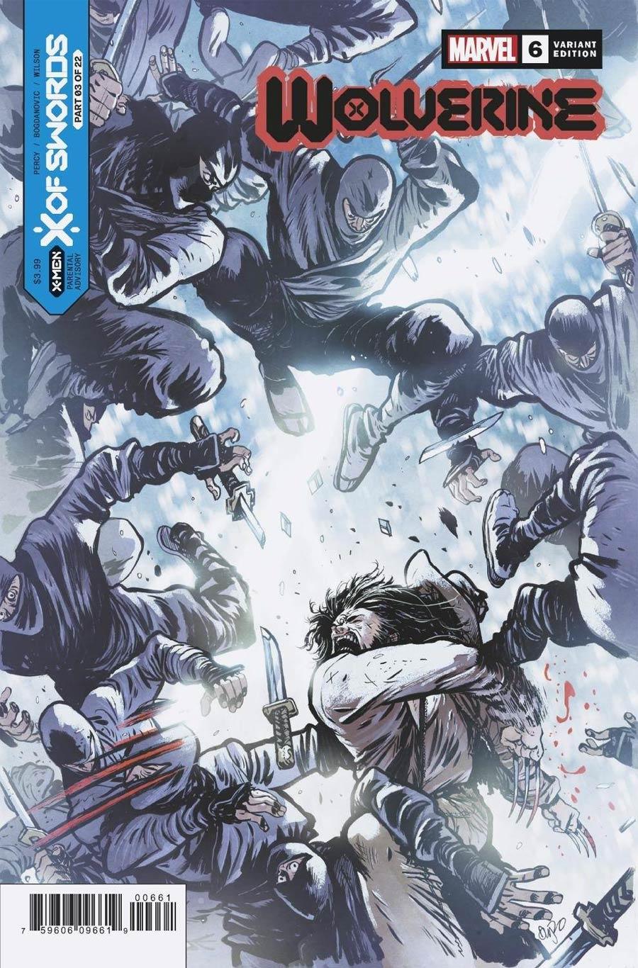 Wolverine Vol 7 #6 Cover C Variant Daniel Warren Johnson Cover (X Of Swords Part 3)