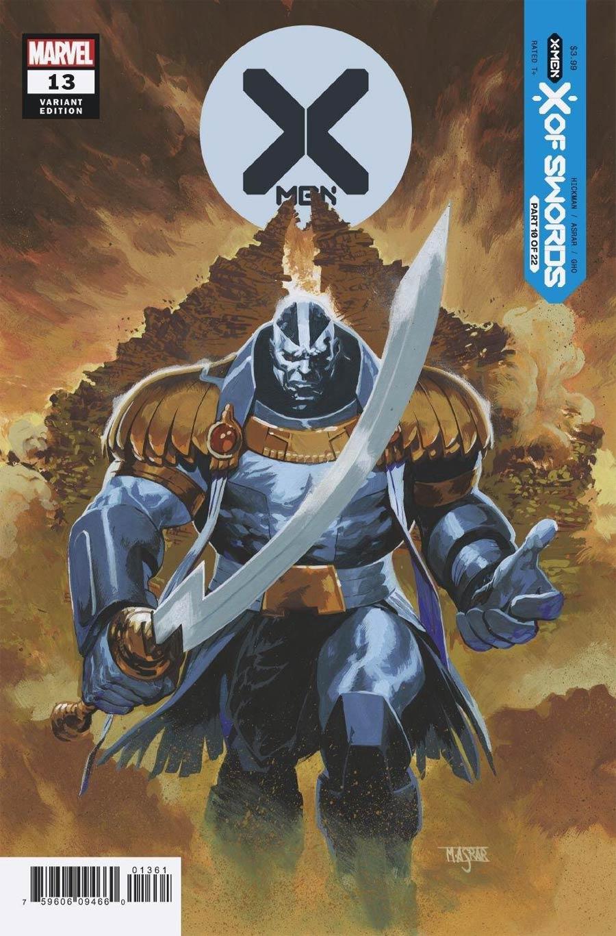X-Men Vol 5 #13 Cover D Variant Mahmud Asrar Cover (X Of Swords Part 10)