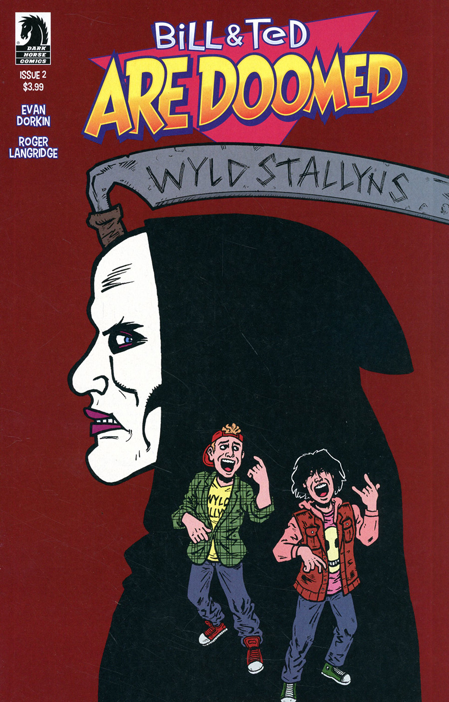 Bill & Ted Are Doomed #2 Cover A Regular Evan Dorkin & Sarah Dyer Cover
