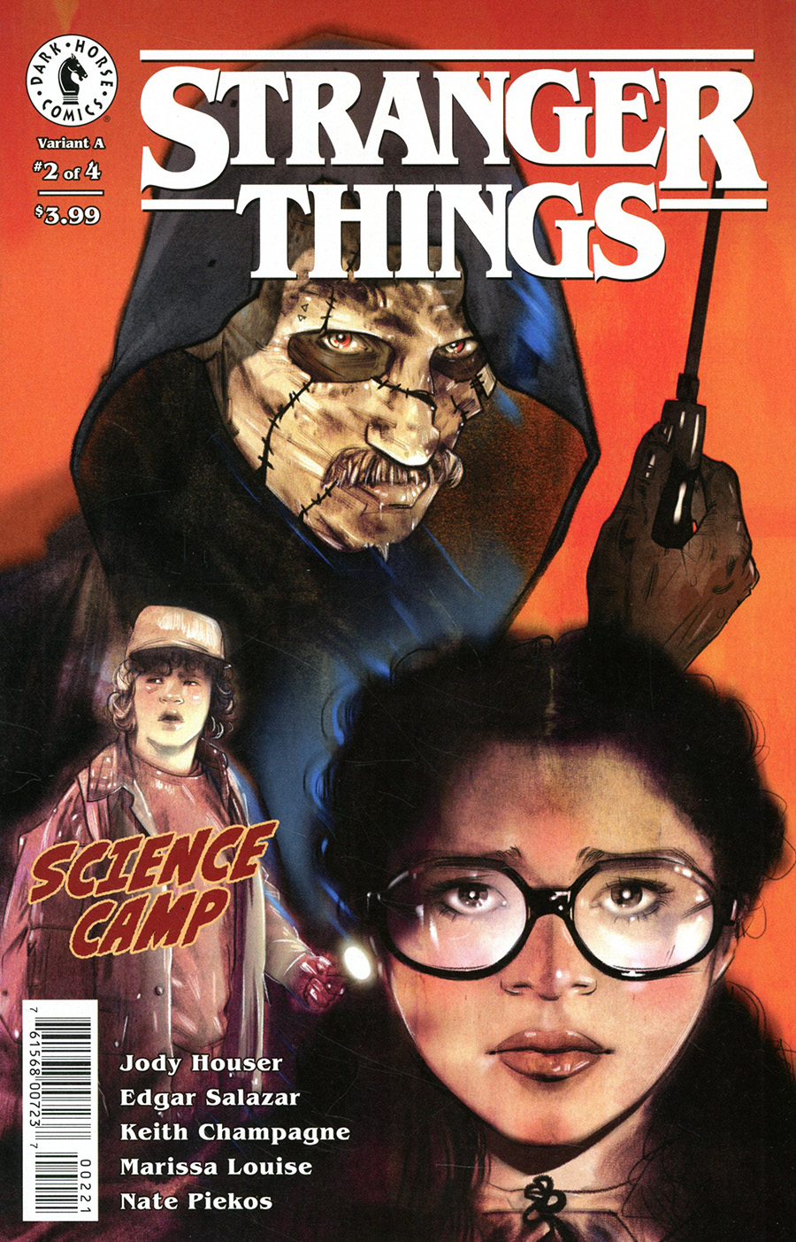 Stranger Things Science Camp #2 Cover B Variant Tula Lotay Cover