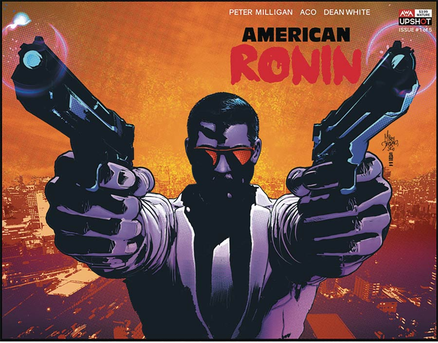 American Ronin #1 Cover B Variant Mike Deodato Jr Cover