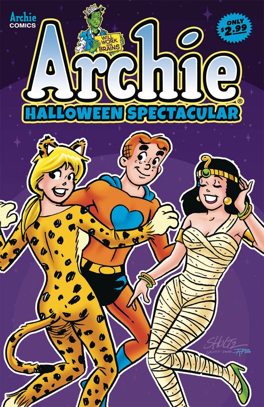 Archies Halloween Spectacular #1 2020
