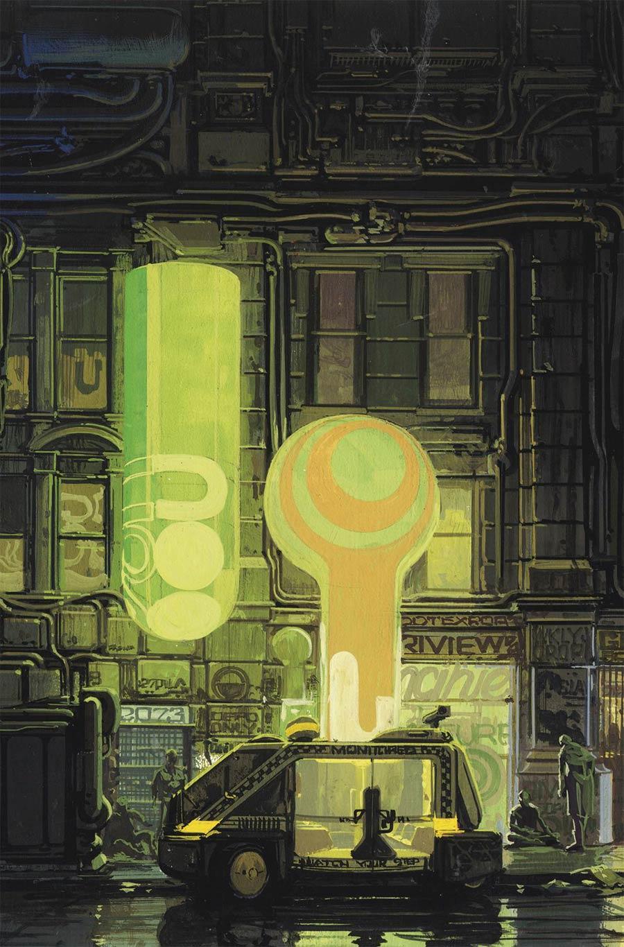 Blade Runner 2019 #5-8 Syd Mead Virgin Pack