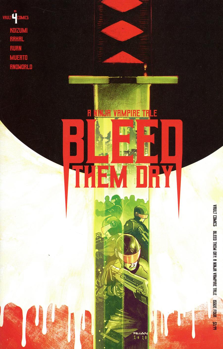 Bleed Them Dry #4 Cover A Regular Dike Ruan Cover