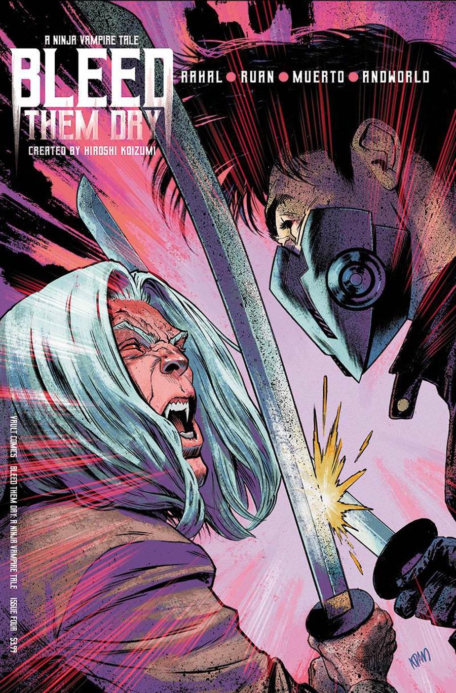 Bleed Them Dry #4 Cover B Variant Adam Gorham Cover