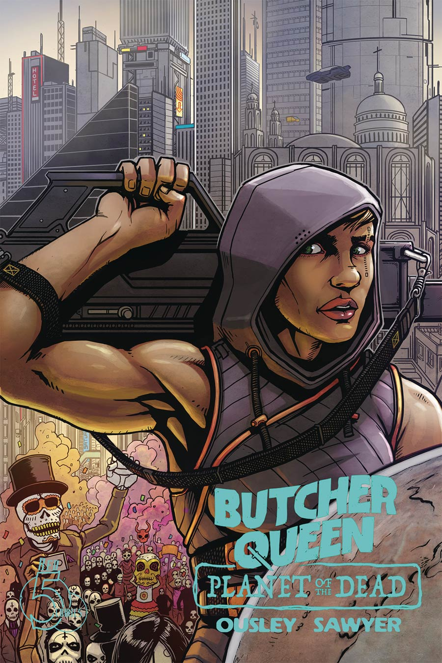 Butcher Queen Planet Of The Dead #1 Cover A Regular Ben Sawyer Cover