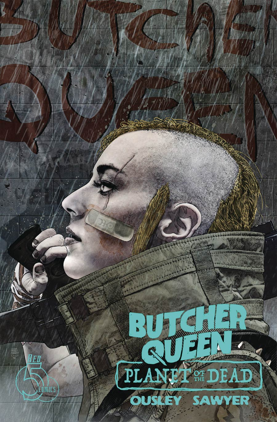 Butcher Queen Planet Of The Dead #1 Cover B Variant Tim Bradstreet Cover