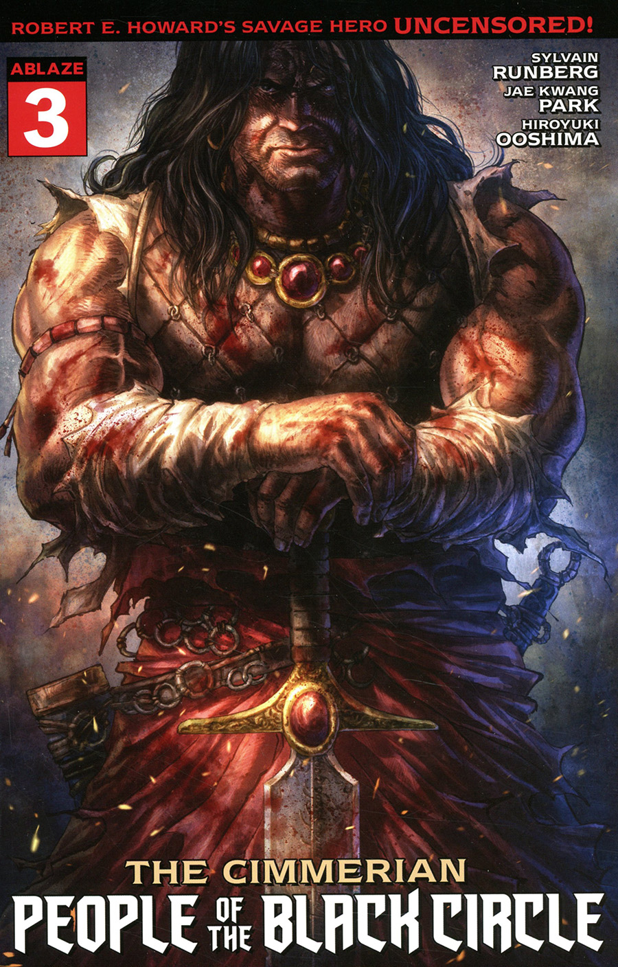 Cimmerian People Of The Black Circle #3 Cover A Regular Alan Quah Cover