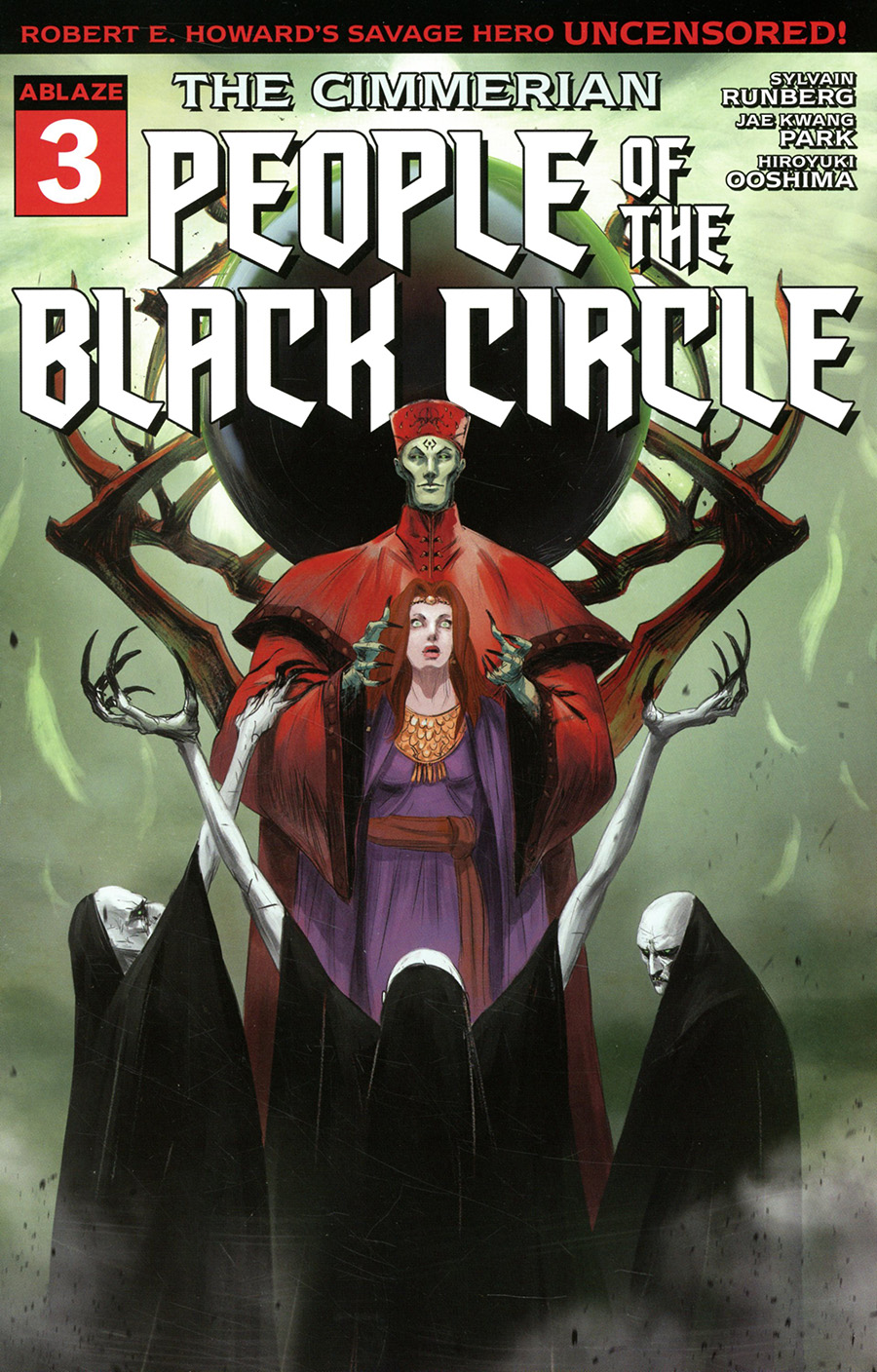 Cimmerian People Of The Black Circle #3 Cover C Variant Fred Rambaud Cover