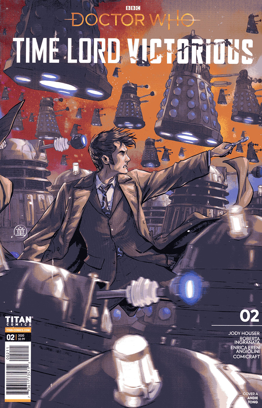 Doctor Who Time Lord Victorious #2 Cover A Regular Andie Tong Cover
