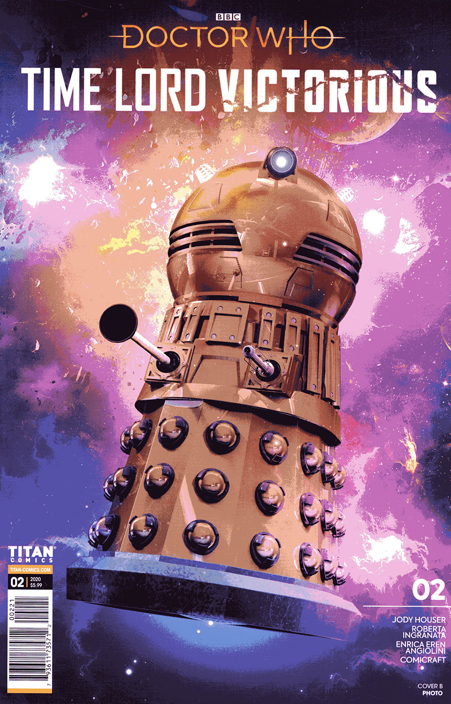 Doctor Who Time Lord Victorious #2 Cover B Variant Photo Cover