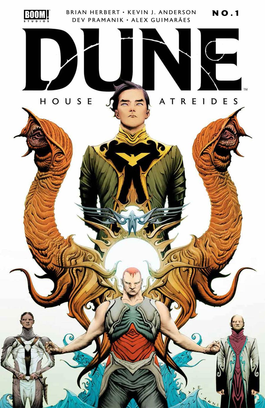 Dune House Atreides #1 Cover A 1st Ptg Regular Jae Lee Cover