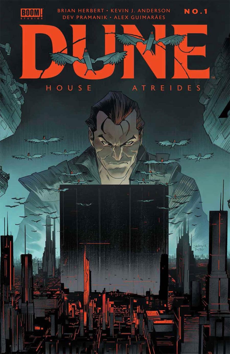 Dune House Atreides #1 Cover B Variant Dan Mora Cover
