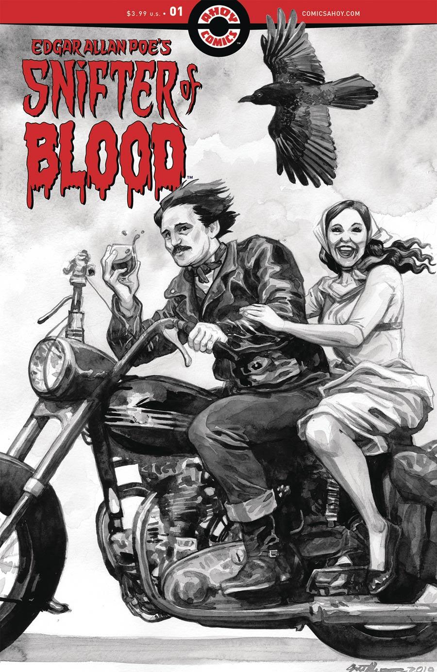 Edgar Allan Poes Snifter Of Blood #1