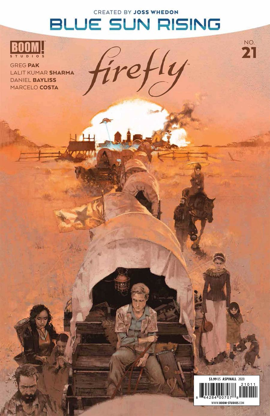 Firefly #21 Cover A Regular Marc Aspinall Cover