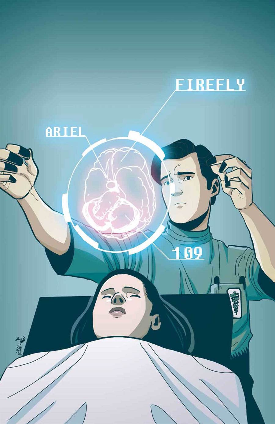 Firefly #21 Cover B Variant George Kambadais Cover