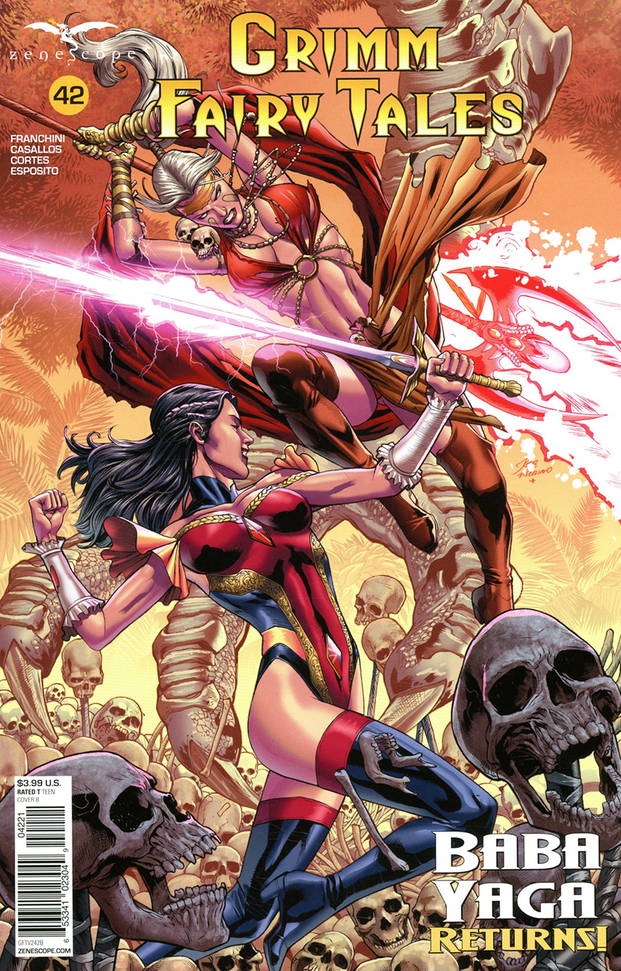 Grimm Fairy Tales Vol 2 #42 Cover B Igor Vitorino